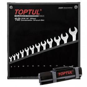 """Набор ключей рожково-накидных комбинированных 12 шт. 6-22  """"Hi-Performance""""  TOPTUL GPAX1202"""