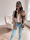 Женская демисезонная короткая куртка (5расцв) 42-46р., фото 6