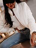 Женская демисезонная короткая куртка (5расцв) 42-46р., фото 9