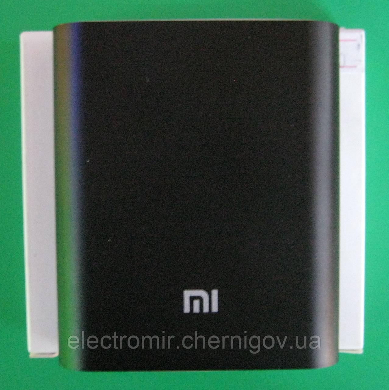 Портативный аккумулятор Xiaomi 10400 mAh (черный)