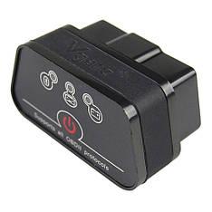 Диагностический автосканер Vgate iCar2 ELM 327 OBD2 V2.1 Bluetooth для Android Black