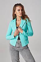 Женский однотонный пиджак Lipar Мята