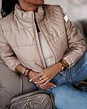 Женская демисезонная короткая куртка (5расцв) 42-46р., фото 2