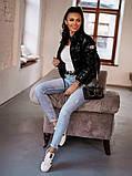 Женская демисезонная короткая куртка (5расцв) 42-46р., фото 3