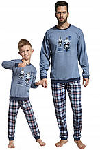 Детская пижама для мальчика CORNETTE Польша DOG PATROl Синий