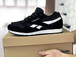 Чоловічі кросівки Reebok (чорно-білі) 8990, фото 3