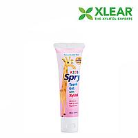 Зубной гель Xlear, Kids Spry, со вкусом жевательной резинки (0-3 лет), 60 мл