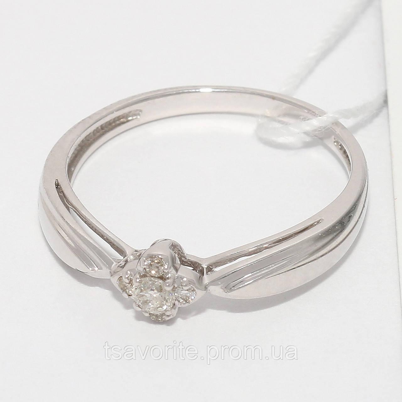 Золотое кольцо с бриллиантами НХК-37