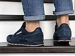 Чоловічі кросівки Reebok (темно-сині) 8991, фото 3