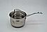 Набор посуды   Кастрюли   Набор посуды из нержавеющей стали Benson BN-203 10 предметов, фото 2