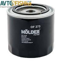Масляний фільтр Molder OF273 аналог WL7067/OC383/W92021 (OF273)
