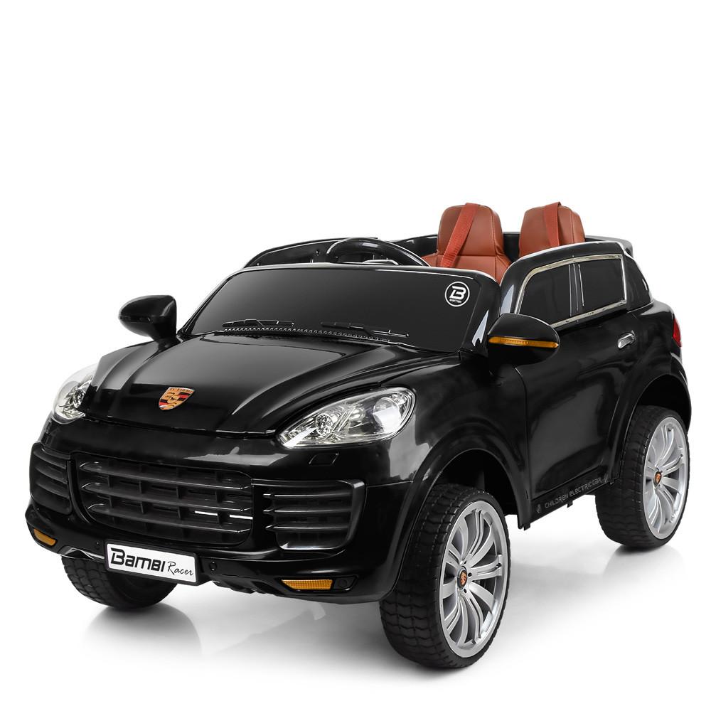 Детский электромобиль Porsсhe M 3557EBLR-2 черный