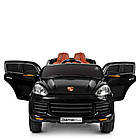 Детский электромобиль Porsсhe M 3557EBLR-2 черный, фото 8