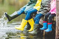 Обувь на мокрую погоду для всей семьи