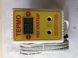 Терморегулятор цифровой ЦТР-2 розеточный 10А -40...+125