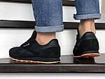Мужские кроссовки Reebok (черно-оранжевые) 8994, фото 3
