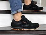 Мужские кроссовки Reebok (черно-оранжевые) 8994, фото 4
