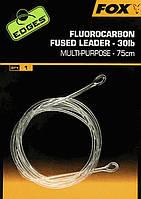 Флюорокарбоновый лідер Fox Fluorocarbon Fused Leader 30lb - 75 см