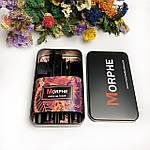 Кисти для макияжа Morphe в черном металлическом футляре, фото 2