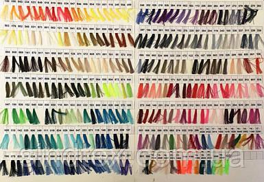 Каталог для подбора цветов швейных ниток Nitex 40/2 4000ярдов (VELL-001)