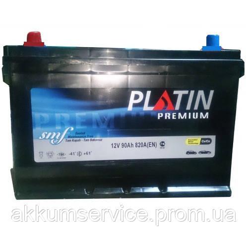Аккумулятор автомобильный Platin Battery Premium 95AH L+ 820A Asia
