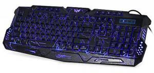 Клавиатура игровая с трехцветной подсветкой Atlanfa Gamer wireo М200L Razer