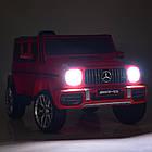 Детский электромобиль Mercedes Benz M 4214EBLR-3 красный, фото 2