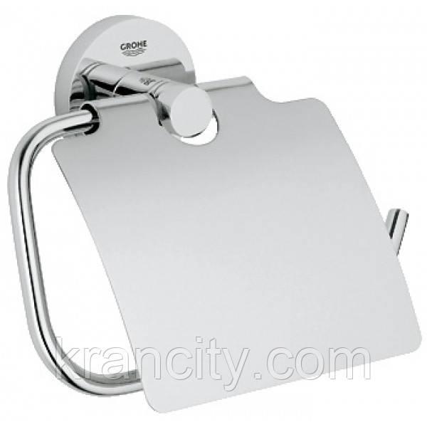 Держатель бумаги GROHE ESSENTIALS 40367001,бумагодержатель в туалет