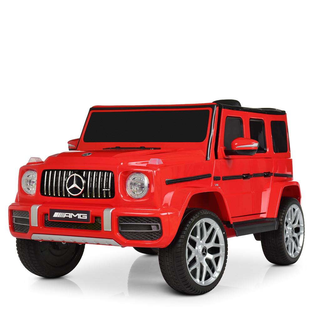 Детский электромобиль Mercedes Benz M 4214EBLR-3 красный
