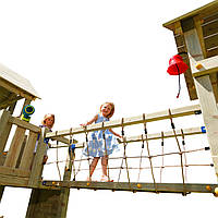 Модуль BRIDGE для детской игровой площадки KBT Blue Rabbit (модуль для дитячого майданчика)