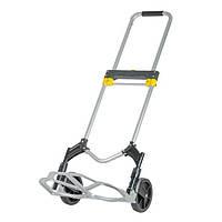 ✅ Тележка ручная складная до 80 кг, 450*485*1090, колеса 170 мм, (алюминиевая) INTERTOOL LT-9010