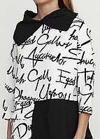 Туника рубашка Блузка свободная разлетайка женская универсальный размер