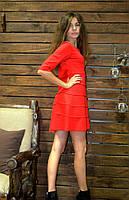 Женское платье свободного кроя для беремынных