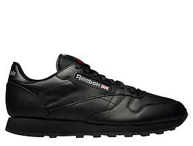 Кроссовки Reebok Classic Leather Black 2267 Черный, фото 3