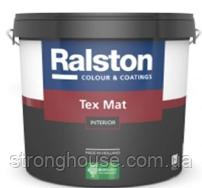 Ralston Tex Mat W матовая краска Ралстон Текс Мат 10л