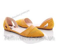 """Туфли женские стильные Лето HD15 (8 пар р.36-41) """"Mei De Li"""" недорого оптом от прямого поставщика"""
