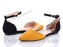 """Туфли женские стильные Лето HD24 (8 пар р.36-41) """"Mei De Li"""" недорого оптом от прямого поставщика"""