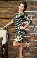 Молодежное платье из французского трикотажа