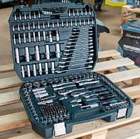 Набор инструмента 216 pcs торцевых головок с трещоткой Gut Maister GM-01216