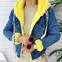 Стильная джинсовая курточка, размеры: 42, 44, 46
