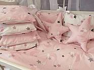 Детское постельное бельё в кроватку ТМ Bonna Перфект Розовое, фото 2
