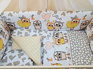 Детское постельное бельё в кроватку ТМ Bonna купон Бежевое, фото 2
