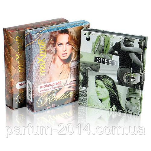 Подарочный набор   палитра декоративной косметики с зеркалом для макияжа: тени, румяна, пудра - фото 2