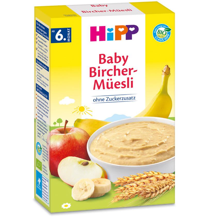 HiPP Перші дитячі органічні сухі ніжні пластівцi з 6 мic