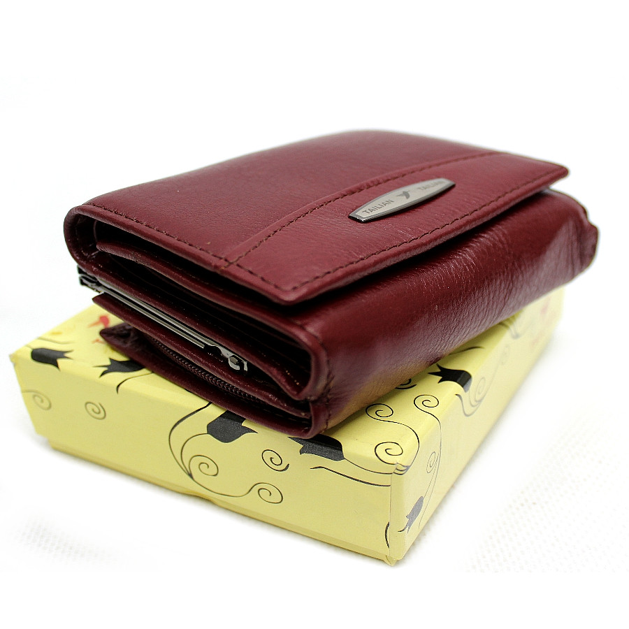 Небольшой кожаный женский кошелек Tailian YR T728