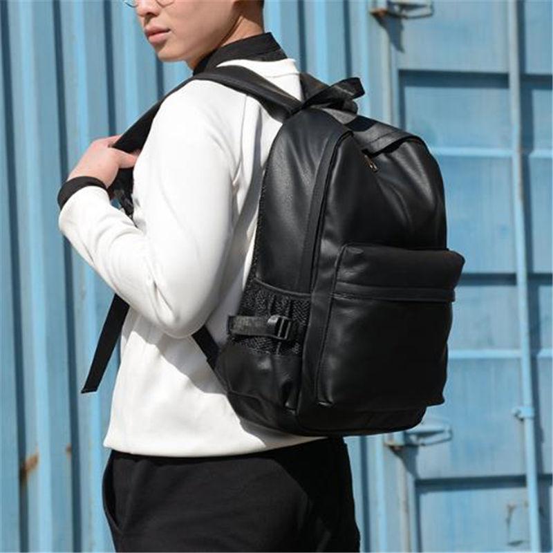 Рюкзак городской мужской. Мужской рюкзак для ноутбука Черный