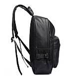 Рюкзак міський чоловічий. Чоловічий рюкзак для ноутбука Чорний, фото 5