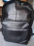 Рюкзак городской мужской. Мужской рюкзак для ноутбука Черный, фото 8