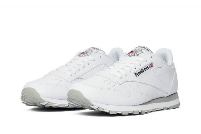 Кросівки Reebok Classic Leather White 2214 Білий, фото 2