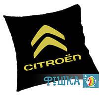 Citroen подушка с логотипом, фото 1